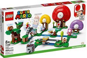 NEW LEGO SUPER MARIO ADVENTURES TOAD'S TREASURE HUNT SET 71368