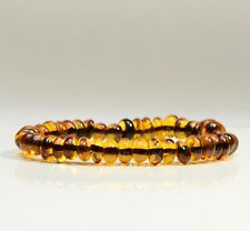 Naturel Bracelet ambre baltique adulte cherry baroque style + CERTIFICAT