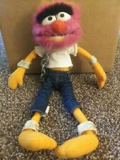 """The Muppets Animal 17"""" Plush Jim Henson, great condition."""