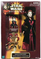 STAR WARS EPISODE 1 ULTIMATE HAIR QUEEN AMIDALA COLLECTION DOLL HASBRO 1998