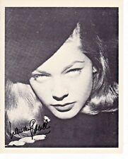Lauren Bacall The Big Sleep Bogart Key Largo Autograph Hand Signed 8x10 Print