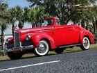 1942 Packard 110 Convertible 1942 Packard110ConvertibleRedSurvivor Classic Car Services LLC