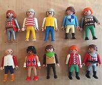 Rare 1990s Vintage Playmobil Knight Squires Castle Toy Set 10 Figures Bundle Lot