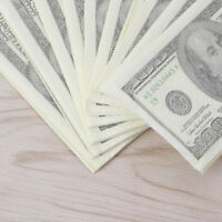 1Pack 3 Layers Funny Soft Printing Dollars Bill Funny Money Toilet Tissue Paper