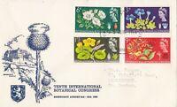 GB207) Great Britain 1964 Botanical Congress FDC , Philatelic Bureau