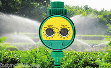 Electronic Water Timer Solenoid Valve Irrigation Sprinkler Controller Yellow NWE