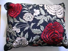LAVINIA MULTI FILLED EMBROIDERED CUSHION BY LINEN HOUSE SIZE 30 X 40 CM WITH TAG