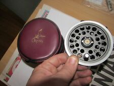 "stunning vintage daiwa youngs 809 trout 1500 fly fishing reel 3.5"" + osprey case"