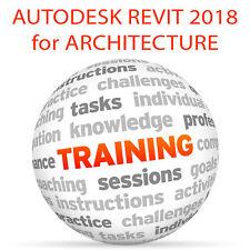 Autodesk REVIT 2018 for ARCHITECTURE (metric) - Video Training Tutorial DVD