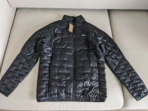 Patagonia M's Micro Puff Insulated Jacket - Black - Size Medium - NEW