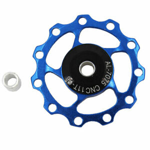 Bike Bicycle Rear Derailleur MTB Ceramic 11T Bearing Jockey Wheel Pulley Road