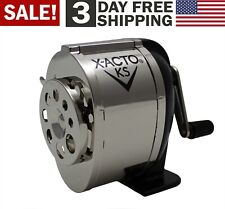 Wall Mount Manual Pencil Sharpener Metal Desk School Office Heavy Duty Workshop
