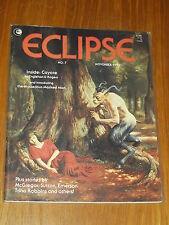 ECLIPSE #7 NOVEMBER 1982 ENGLEHART ROGERS US MAGAZINE~