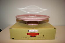 Le Creuset Stoneware 30cm Cake Stand - Chiffon Pink