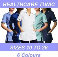 Nurses Tunic Uniform Healthcare Carers Dentist Hospitality Dental Gown Clinic