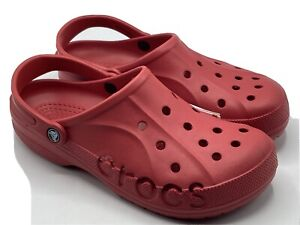 Crocs Women's Size 9 Red Clogs Baya  10126-6EN Red - New with Tags!