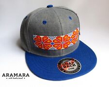 Men Women Mexican Cap Huichol Snapback Hat Baseball Flat bill Custom Beaded Hat
