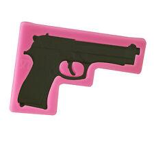 Silicone Cake Fondant Cookie Kuchen Schokolade Mould Decorating Toy Pistol