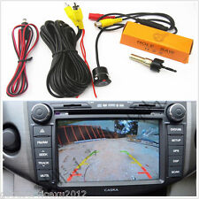 18.5mm Mini CCD Car SUV Rear View Reverse Backup Parking Camera Kit For Cadillac