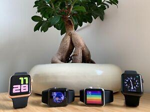 Apple Watch Series 3 - 38mm - Aluminium Case - ION-X Glass - (GPS + LTE) WR-50M