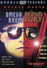 Omega Doom/Blind Fury (DVD, 2000, Widescreen) Free Shipping In Canada
