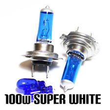 VW Golf Plus mk5 1.9 h7 501 100w SUPER WHITE XENON HID Dip/Laterale Lampadine Set