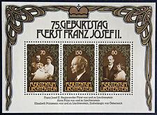 LIECHTENSTEIN - timbre/stamp Yvert et Tellier Bloc 14 n** (cyn5)