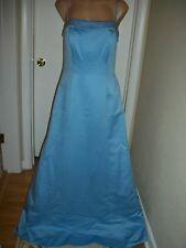 FORMAL DRESS EVENING BALL GOWN PROM PARTY COCTAIL WEDDING BRIDESMAID SIZE 12 WOW