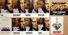 KING OF THIEVES FILM POSTCARDS X 6 MICHAEL CAINE RAY WINSTONE JIM BROADBENT ETC