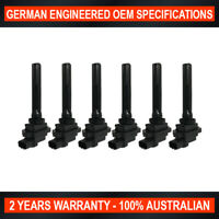 Set of 6 OEM Quality Ignition Coil for Suzuki Vitara Grand Vitara XL-7 V6 -3-Pin