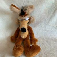 Wile E Coyote Warner Bros Characters Vintage 1971 Plush Stuffed Animal Toy 20""