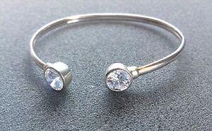 "SILPADA - B2400 - Cubic Zirconia Strlng Silver ""Punctuation Cuff"" Bracelet - RET"