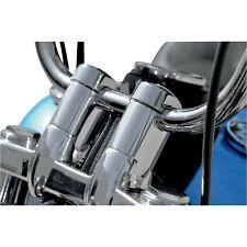 """Riser Alza Manubrio Alluminio 2"""" 5 cm Harley Davidson Dyna Street Bob FXDB 08-12"""