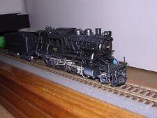 "BRASS N.J.Custom  Reading L7sb 4-6-0 Camelback Steam Loco #602 ""H.O.Gauge"""