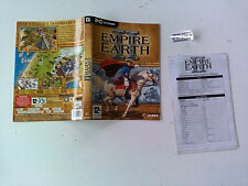 Jaquette/carte de reference pour Empire earth 2 II PC FR