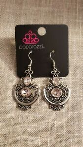 Unlimited Vacation Pink Paparazzi Earrings