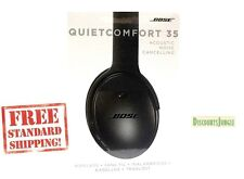 BOSE QC35 QUIETCOMFORT 35 WIRELESS Acoustic Noise Cancelling Headphones Black