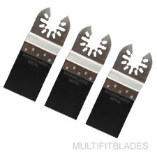"3 x 1-3/8"" Bi-Metal Oscillating Tool Blade - Rockwell Hyperlock, DeWalt"