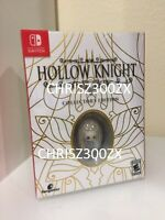 Hollow Knight Collector's Edition Nintendo Switch Knight Brooch USA Region Free