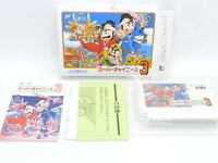 NEW SUPER CHINESE 3 NES Japanese Famicom FC Nintendo Cartridge BOX z9015