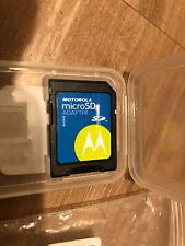 Motorola Micro SD Card Adapter in box FREEPOST- UK