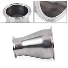 """New listing 4"""" x 2.5"""" Stainless Steel 304 Sus Tri Clamp Sanitary Concentric Reducer TriClamp"""