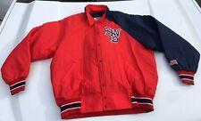 Vintage 80s 90s SCRANTON/WB RED BARONS MINOR LEAGUE Baseball Jacket XXL EUC