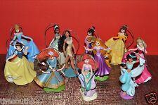 Disney Princess Deluxe Christmas Ornament Set 11pc Merida Ariel Aurora Rapunzel