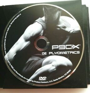 Beachbody P90X Extreme Training Home Fitness Tony Horton Replacement Discs