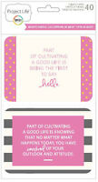 Project Life BECKY'S QUOTES 40-PACK THEMED CARDS scrapbooking 380364