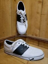 Puma El Ace Core+ 34990115 White Perforated Lace-Up Lifestyle Sneaker Mens US 14