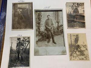 WW1 German Photos Freikorp Skull snapshots original