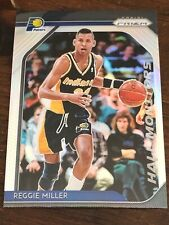 Reggie Miller  2018-19 Prizm Hall Monitors Prizms Silver #10 Indiana Pacers 126