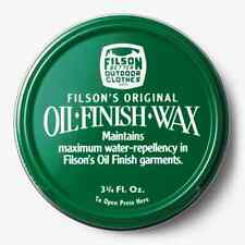 Filson Oil Finish Wax - 3 3/4oz - New!